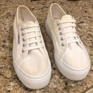 SUPERGA Off white color, worn only a few times